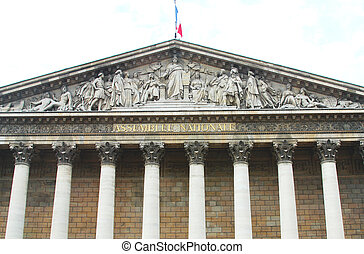 Assemblee Nationale , Paris - Assemblee Nationale Palais...