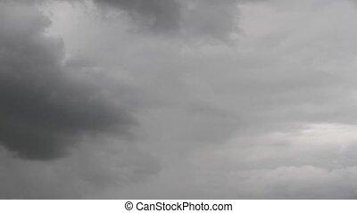 Dark Sky - Timelapse of a cloudy sky