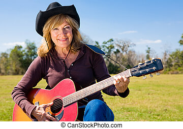 Country Western Musician