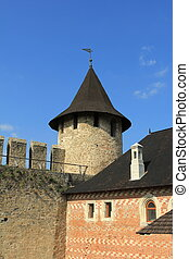 Medieval fortress. - Medieval fortress in the West of...