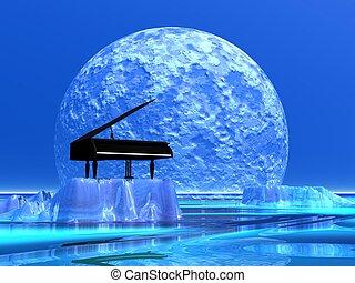 鋼琴, 浪漫