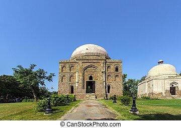 Dadi potis tomb in Lodi Garden in Delhi