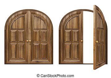 Double door Illustrations and Clipart. 1,293 Double door royalty ...