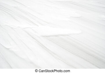 Winter background - snow texture with windy style