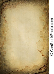 grunge burned and wet paper space for text or image - grunge...