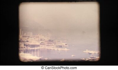 Vintage 8mm. Port of Monaco