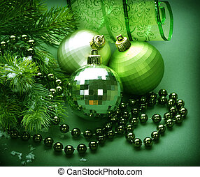 Christmas Decoration Green