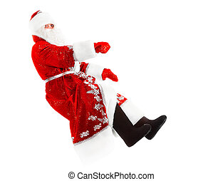 invisible, coche,  Claus,  santa