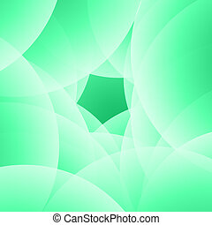 Abstract Cicle background with Pentagon shape