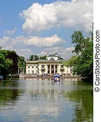 Lazienki Palace,Warsaw,Poland