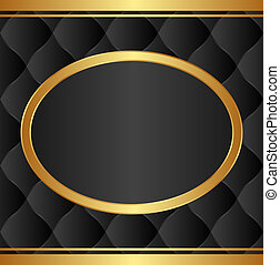 black gold background - black background with gold oval...