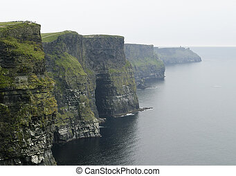 Cliffs of Moher - The dark, ominous Cliffs of Moher are a...