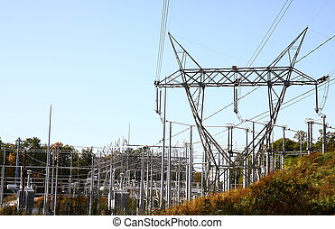 High Power Electricity Complex - A high power electricity...