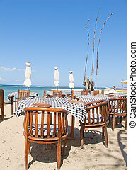 Balinese Jimbaran beach famous for it's perfect sea food...