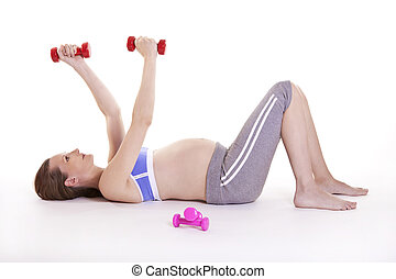Pregnant woman's fitness