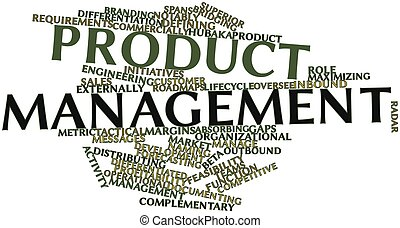 Product management - Abstract word cloud for Product...