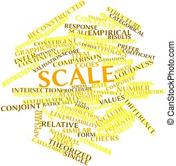 Word cloud for Scale - Abstract word cloud for Scale with...