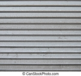 Garage metal door background