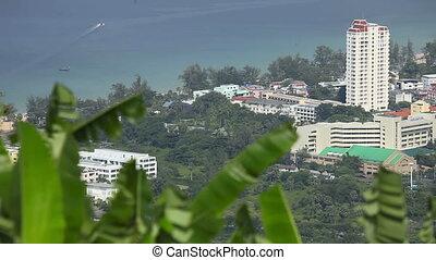Phuket landscape. - Phuket island landscape. Thailand.