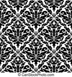 Seamless pattern in damask style