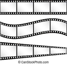 Filmstrip backgrounds - Various filmstrip backgrounds