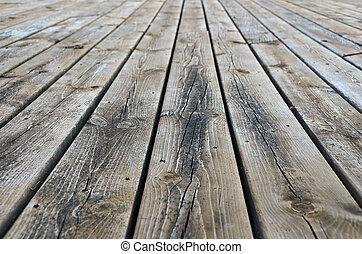 weathered deck boards - Weathered deck planks background