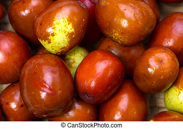 jujube - Cooking ingredient series jujube. for adv etc. of...