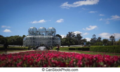 Time-Lapse of Botanical Gardens