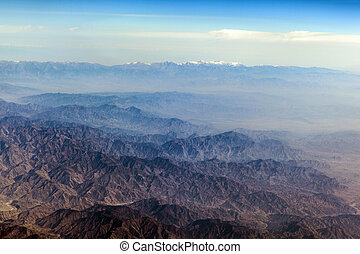 The Baba Mountain range of the Hindu Kush between Kabul and...