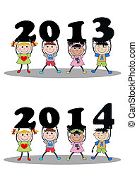 year 2013 and 2014
