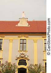 The beautiful Durnstein abbey, architectural details