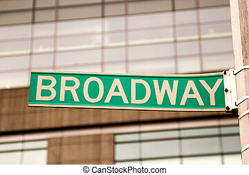 Broadway Sign, New York