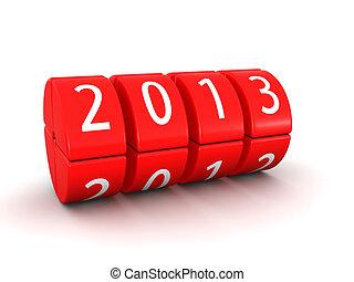 2013 year rolling calendar