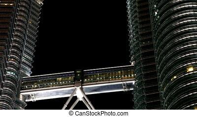 Petronas towers Kuala Lumpur - Kuala Lumpur 20 October 2012...