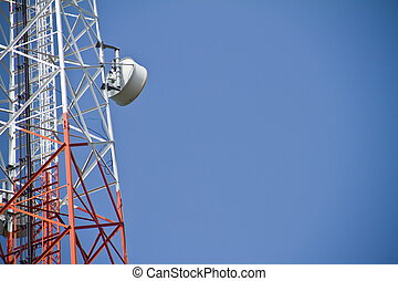 Telecommunications tower Mobile phone base station