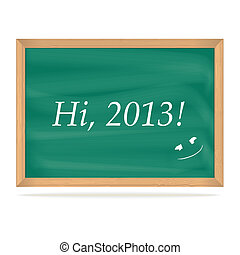 School Board with number of new year 2013