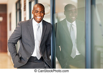 african american business executive - happy african american...