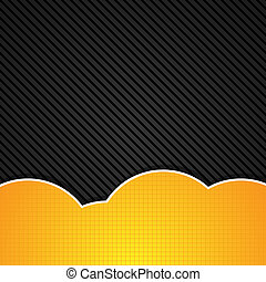 Abstract orange background. Vector illustration.