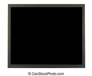 Flat Screen - Flat screen isolated in white