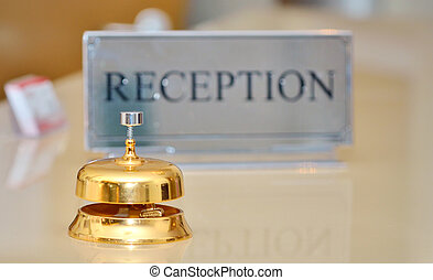 service bell on the hotel