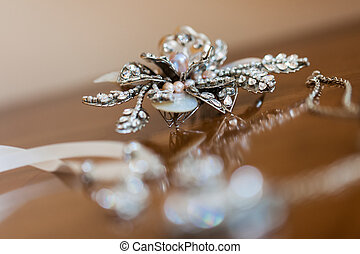 Diamond accessorize - Some diamond accessorize being...