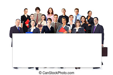 Business people team. - Group of business people. Business...