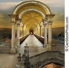 Unreal tunnel - Surreal architecture
