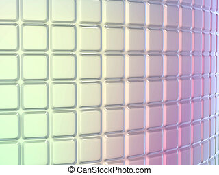 Fluted pattern with gradient colors Useful as background