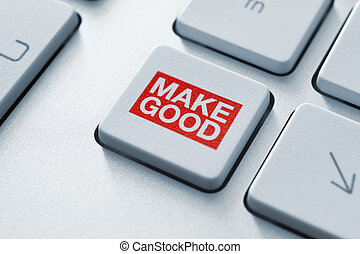 Making good magic button - This button makes everything...