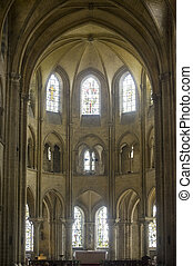 Saint-Leu (Picardie) - Gothic church interior