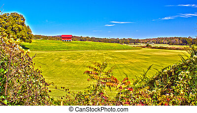 north ga mountains - beautful landscape of clarksville...