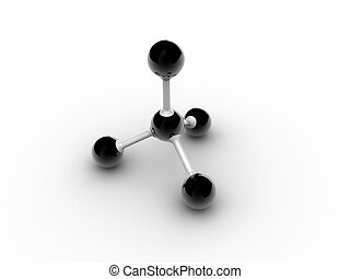 Molecule - Conceptual model of molecular structure -...