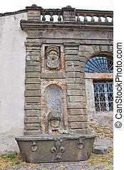 Farnese Palace. Caprarola. Lazio. Italy.