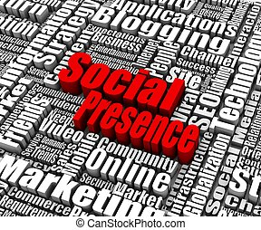 Social Presence - Group of Social Presence related words....